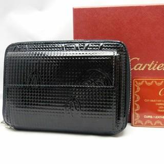 カルティエ(Cartier)の極美品 ハッピーバースデー コンパクトジップ カルティエ(財布)