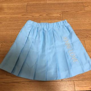 ジェニィ(JENNI)のジェニーラブ冬用今期流行りプリーツスカート新品未使用(スカート)