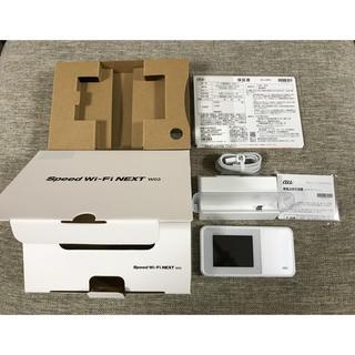 UQ WiMAX2+ Speed Wi-Fi NEXT W03+クレードル(その他)