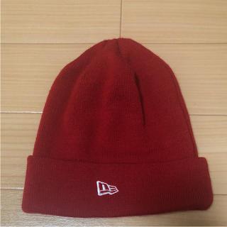 ニューエラー(NEW ERA)のニューエラ ニット帽 ビーニー  美品(ニット帽/ビーニー)