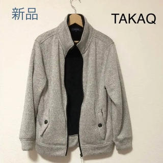 タカキュー(TAKA-Q)の【メンズ】TAKAQ新品 中ボアブルゾン(ブルゾン)