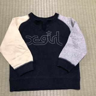 エックスガール(X-girl)のX-girl トレーナー 2T(Tシャツ/カットソー)