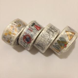パレットプラザ ミッフィー マスキングテープ 4つセット(テープ/マスキングテープ)