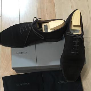 ジェーエムウエストン(J.M. WESTON)のジェームスウェストン スエード 靴紐(ドレス/ビジネス)