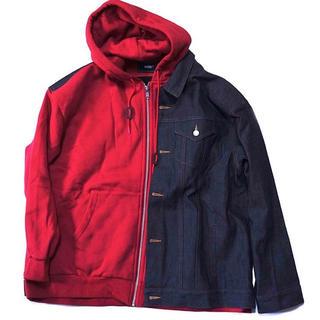 コムデギャルソン(COMME des GARCONS)のジーンズジャケットパーカー(Gジャン/デニムジャケット)