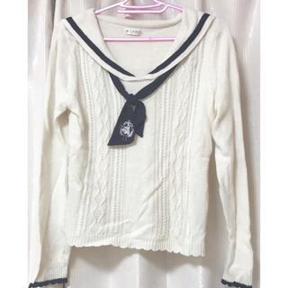 アクシーズファム(axes femme)の薄手のセーター(ニット/セーター)