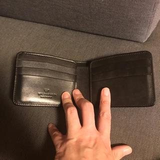 ガンゾ(GANZO)の美品ワイルドスワンズ WILDSWANS フルグレインブライドル WINGS(折り財布)