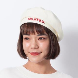 ミルクフェド(MILKFED.)のMILKFED. ベレー帽(ハンチング/ベレー帽)