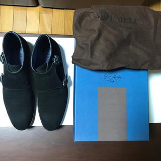 サントーニ(Santoni)のモンクストラップ チャッカーブーツ DI MELLA ディメッラ スエード(ブーツ)