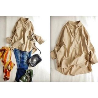 センスオブプレイスバイアーバンリサーチ(SENSE OF PLACE by URBAN RESEARCH)のシャツ ブラウス モカ(シャツ/ブラウス(長袖/七分))