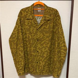 サスクワッチファブリックス(SASQUATCHfabrix.)の17AW Sasquatchfabrix イロハパターンオープンカラーシャツ(シャツ)