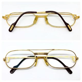 カルティエ(Cartier)のカルティエ メガネフレーム サングラス 眼鏡 Cartier トリニティ(サングラス/メガネ)
