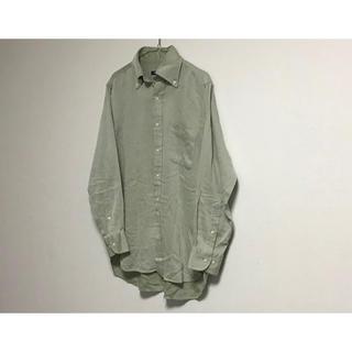 バーバリー(BURBERRY)の古着 ビンテージ Burberry オーバーサイズ ビッグシャツ(シャツ)
