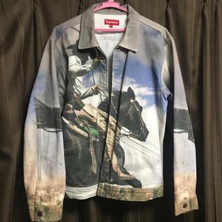 シュプリーム(Supreme)の確実正規 L supreme  cowboy jacket(Gジャン/デニムジャケット)