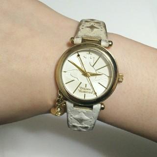 ヴィヴィアンウエストウッド(Vivienne Westwood)のvivienne westwood 腕時計 オーブ ホワイト 中古(腕時計)