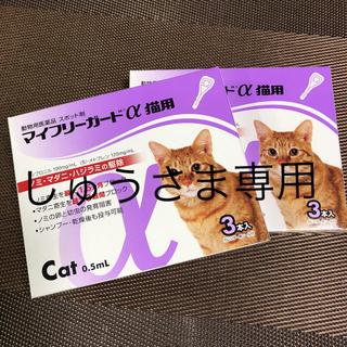 マイフリーガードα猫用5本   ノミ、ダニ