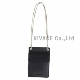 シュプリーム(Supreme)のSupreme Leather ID Holder + Wallet 黒(その他)