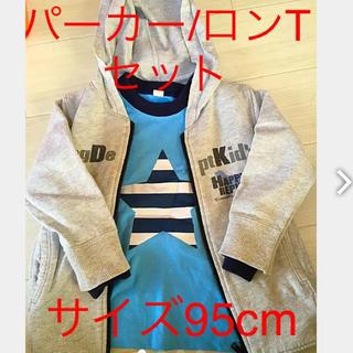 ドッグデプト(DOG DEPT)の2枚 セット 95cm(Tシャツ/カットソー)