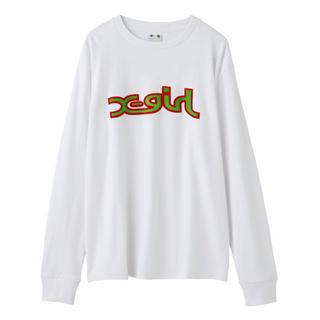 エックスガール(X-girl)の新品★x-girl ★Tシャツ★カットソー★ロゴ★(Tシャツ(長袖/七分))