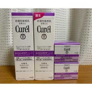 キュレル(Curel)のcurel エイジングケア シリーズ 化粧水 クリーム セット(フェイスクリーム)