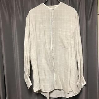 エルメス(Hermes)のVintage HERMES linen shirts 80's(シャツ)