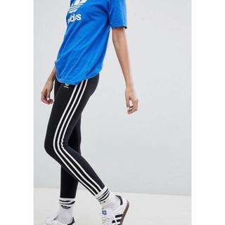 アディダス(adidas)の【 Sサイズ】新品タグ付き アディダス adidas レギンス 送料込 ブラック(レギンス/スパッツ)