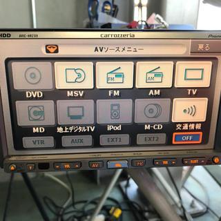 パイオニア(Pioneer)のAVIC-HRZ09(カーナビ/カーテレビ)
