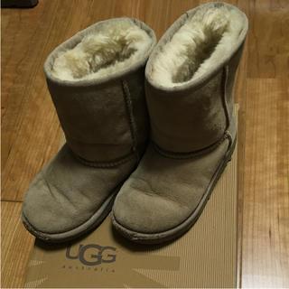 アグ(UGG)のUGG  17.5  ムートンブーツ(ブーツ)