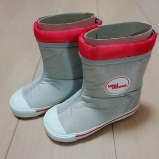 ミキハウス(mikihouse)の未使用品!ミキハウス 14cm ブーツ(ブーツ)