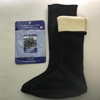 あったか靴下ヨスルポソンボア付きルームシューズルームソックス韓国くつ下冷え性対策(ソックス)