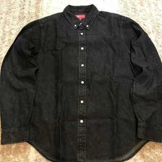 シュプリーム(Supreme)のSupreme Denim Shirt L/S 18SS week4 ブラックM(シャツ)