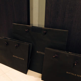Bottega Veneta - BOTTEGA VENETA ショップバッグ3枚セット