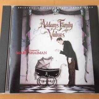 アダムスファミリー2 サウンドトラック 【国内盤CD】送料無料(映画音楽)