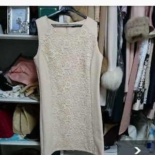 クリア(clear)のワンピースドレス  デート服(ひざ丈ワンピース)