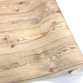 壁紙シール 木目 HWN-22345 50cm×3m はがせる壁紙(その他)