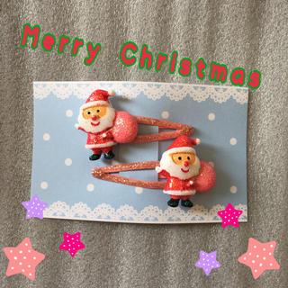 ヘアピン☆クリスマス(ファッション雑貨)