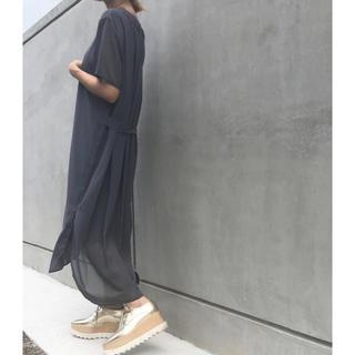 アメリヴィンテージ(Ameri VINTAGE)の今季新作完売品 AMERI FLARE TAIL DRESS(ロングワンピース/マキシワンピース)