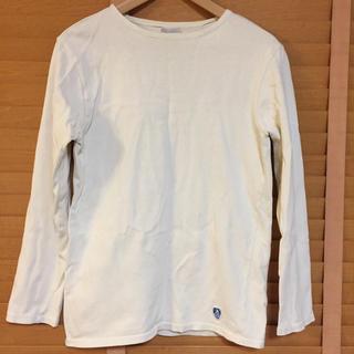 オーシバル(ORCIVAL)の【ワケあり】ORCIVAL オーシバル ボートネック 長袖 白(Tシャツ/カットソー(七分/長袖))