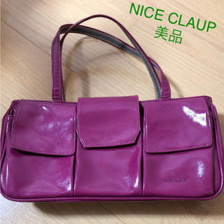ナイスクラップ(NICE CLAUP)の【美品】ナイスクラップバッグ(ハンドバッグ)