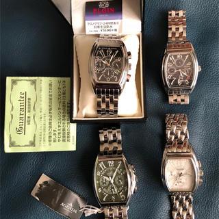 エルジン(ELGIN)のトノー型腕時計メンズクオーツ エルジン、アジェンダ(腕時計(アナログ))