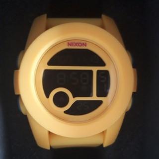 ニクソン(NIXON)の新品未使用品 NIXON THE UNIT イエロー(腕時計(デジタル))