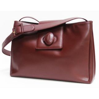 カルティエ(Cartier)のCartierカルティエ ショルダーバッグ マストラインボルドー良品 正規品  (ショルダーバッグ)
