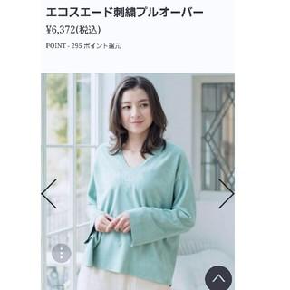 ゴア(goa)の美品♡ ゴア トップス ダウン ジャケット ZARA(カットソー(長袖/七分))