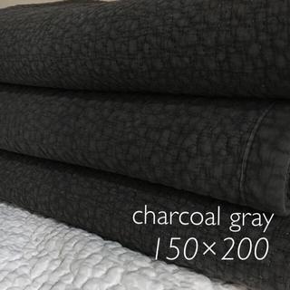 韓国 イブル   クラウド チャコールグレー 150×200(ラグ)