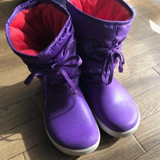 クロックス(crocs)のクロックス☆ レインブーツ・スノーブーツ・長靴  w6(長靴/レインシューズ)