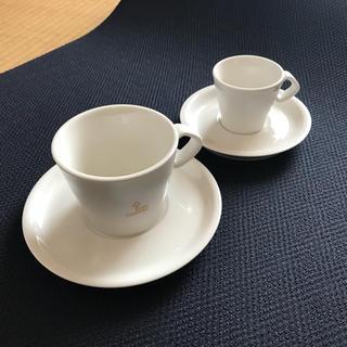 キーコーヒー(KEY COFFEE)のコーヒーカップ & エスプレッソカップ ソーサー付き KEYCOFFEE(食器)