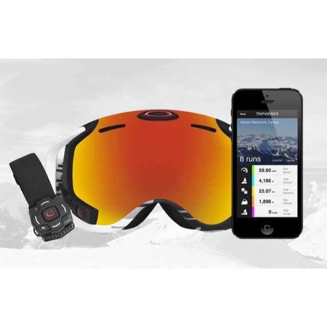 Oakley(オークリー)の7万 OAKLEY Airwave 1.5 GPS,WiFi,Bluetooth スポーツ/アウトドアのスノーボード(アクセサリー)の商品写真