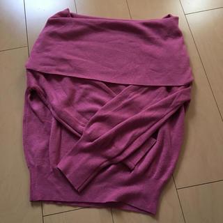 ナチュラルクチュール(natural couture)のオフショルニット♡(ニット/セーター)