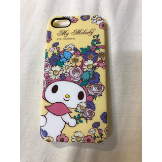 マイメロディ(マイメロディ)のiPhone 5 マイメロお花スマホケース♡♡♡  即購入大歓迎 プロフ必読(iPhoneケース)