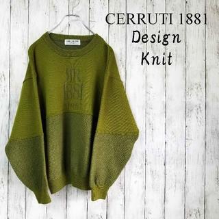 セルッティ(Cerruti)の【一点物】CERRUTI1881 ニットセーター M made in italy(ニット/セーター)